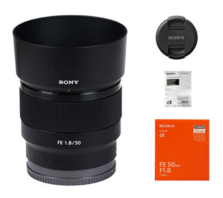 ::: USED ::: Sony FE 50mm F/1.8 (Excellent To Mint-416)