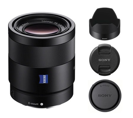 ::: USED ::: Sony FE 55mm F/1.8 ZA (Excellent-752)
