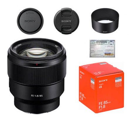 ::: USED ::: Sony FE 85mm F/1.8 (Excellent To Mint-327)