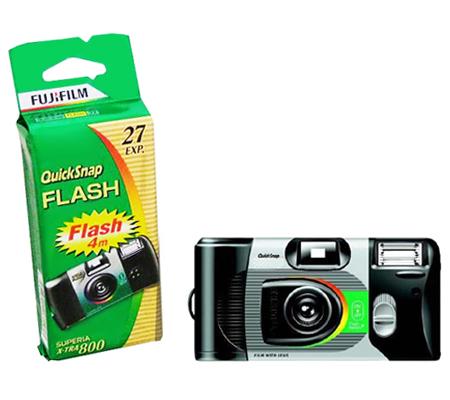 Fujifilm Disposable QuickSnap Superia 800 Flash