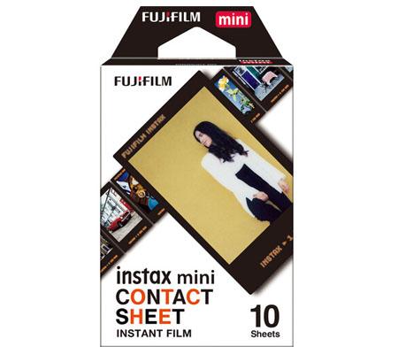 Fujifilm Instax Mini Film Contact Sheet