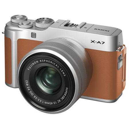 Fujifilm XA7 kit with XC 15-45mm f/3.5-5.6 OIS PZ Camel
