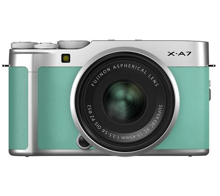 Fujifilm XA7 kit with XC 15-45mm f/3.5-5.6 OIS PZ Mint Green