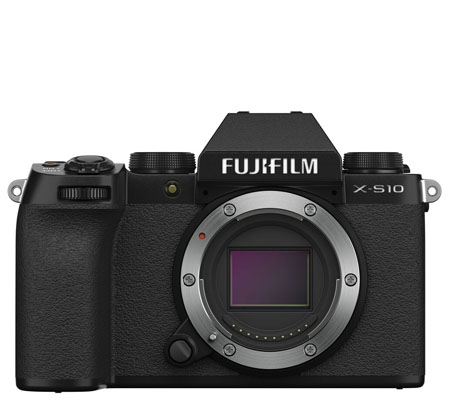 Fujifilm X-S10 Mirrorless Digital Camera Body Only