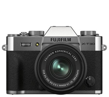 Fujifilm XT30 II Kit 15-45mm f/3.5-5.6 Silver