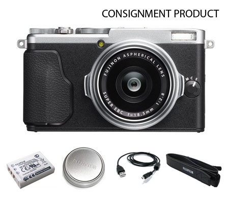 :::USED:::Fujifilm X70 Digital Camera Silver (Ex-Mint Kode 431) Consignment