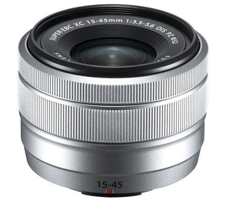 Fujifilm XC 15-45mm f/3.5-5.6 OIS PZ Silver