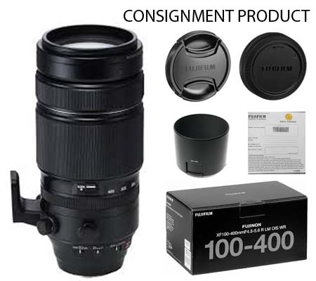 :::USED::: Fujifilm XF100-400mm f/4.5-5.6 R LM OIS WR (Exmint) Kode 738 Consignment