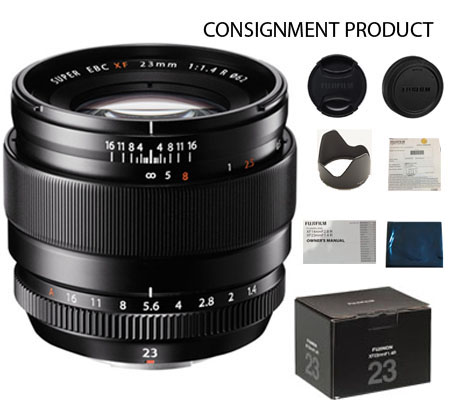 :::USED::: Fujifilm XF 23mm f/1.4R (Excellent To Mint-388) Consignment