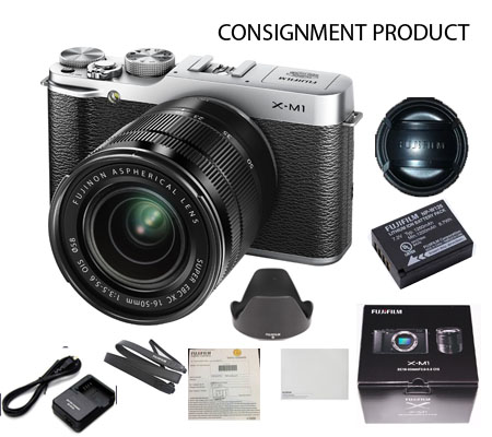 :::USED:::FUJIFILM X-M1 kit XC 16-50 Excellent kode 756/911 Consignment