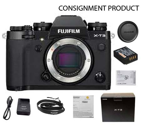 :::USED::: Fujifilm X-T3 Black Body (Mint) Kode 146 Consignment