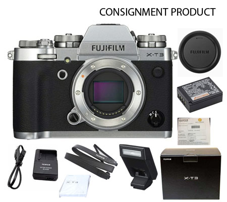 :::USED:::Fujifilm X-T3 Silver Body MINT#881 Consignment