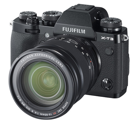 Fujifilm XT3 Kit 16-80mm f/4 R OIS WR Black