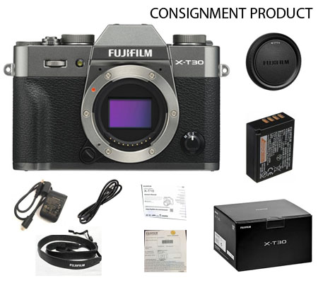 :::USED::: Fujifilm XT30 Body (Charcoal Silver) (Mint-900) CONSIGNMENT