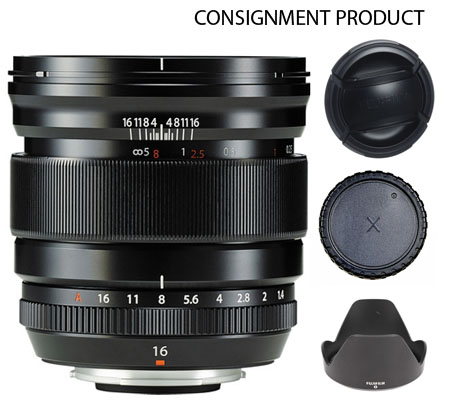 :::USED:::Fujifilm XF16mm f/1.4 R WR (EXCELLENT) Kode#090 CONSIGNMENT