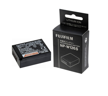:::USED:::Fujifilm NP-W126S Battery (MINT)