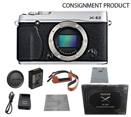 :::USED:::Fujifilm X-E2 body Silver (Ex-Mint) Kode 799 Consignment