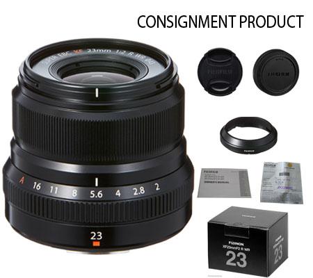 :::USED::: Fujifilm XF 23mm f/2 R WR Black (Mint-254) CONSIGNMENT