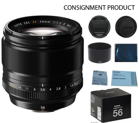 :::USED::: Fujifilm XFC56mm f/1.2 R (Mint-038) CONSIGNMENT