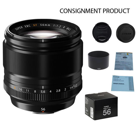 :::USED:::Fujifilm XF56mm f/1.2 R (Exmint) Kode 669 Consignment