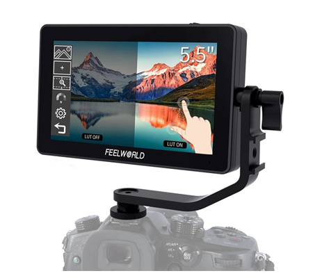 FeelWorld F6 Plus 5.5 Inch IPS FHD 4K HDMI Field Monitor