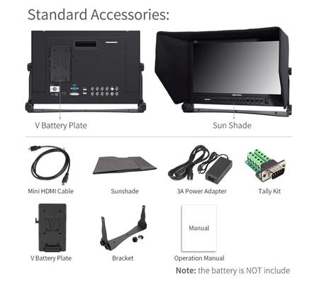 Feelworld SEETEC P173-9HSD 17.3 Inch Broadcast Monitor IPS with SDI 4K HDMI