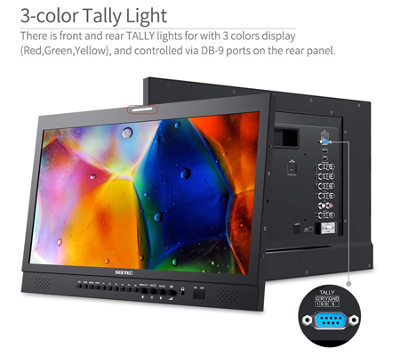 Feelworld SEETEC P215-9HSD 21.5 Inch Broadcast Monitor Full HD IPS