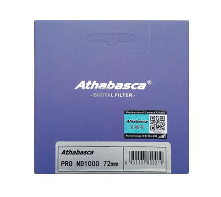 Athabasca Pro ND1000 72mm Professional Camera Filter