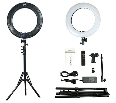Fotoplus RL-18 Ring Light Max LED Black