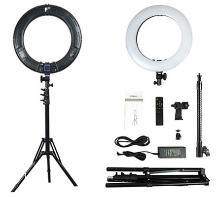 Fotoplus RL-18 Ring Light Max LED Black
