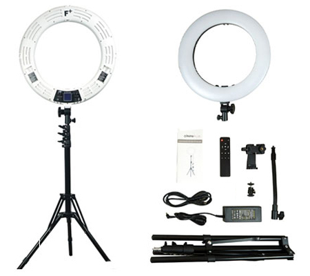 Fotoplus RL-18 Ring Light Max LED White