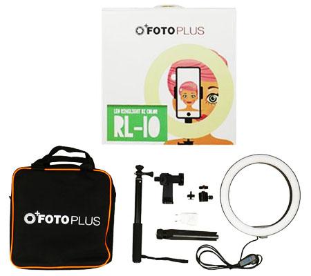 FotoPlus RL-10 Ring Light Bi Color Combo Kit