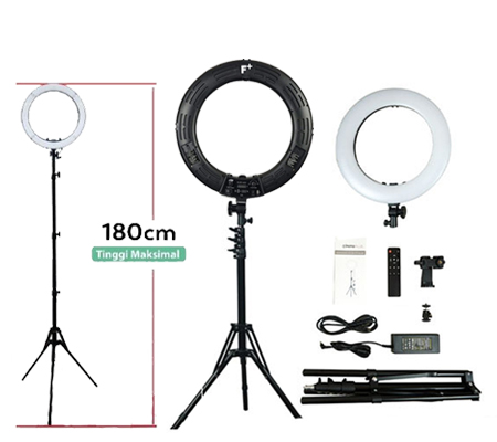 Fotoplus RL-18 Mark IV Bi-Color LED Ring Light