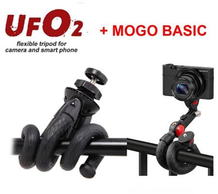 Fotopro UFO II Black Red + Fotopro UFO Mogo Basic