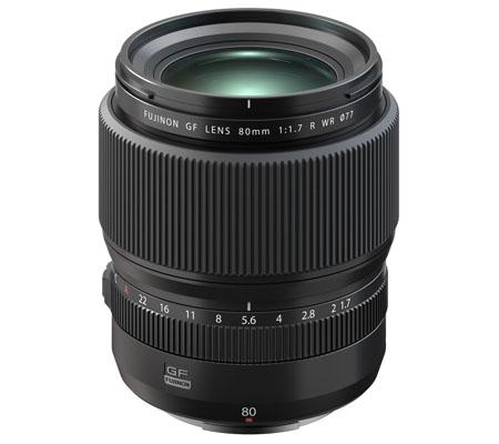 Fujifilm GF 80mm f/1.7 R WR