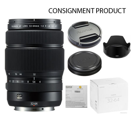 :::USED:::Fujifilm GF32-64mm f/4 R LM WR (Mint # 371) Consignment