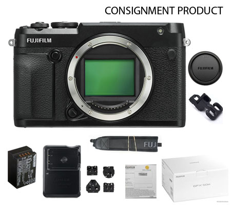 :::USED:::Fujifilm GFX50R Body (Mint#296) Consignment