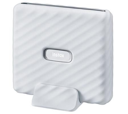 Fujifilm Instax Link Wide Smartphone Printer Ash White