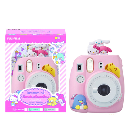 Fujifilm Instax Mini 9 Sanrio Package Smokey White