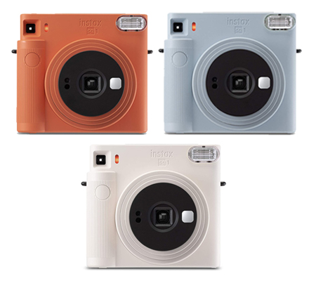 Fujifilm Instax SQUARE SQ1 Instant Camera Terracotta Orange