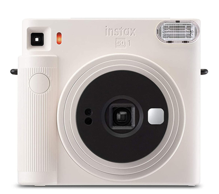 Fujifilm Instax SQUARE SQ1 Instant Camera Chalk White