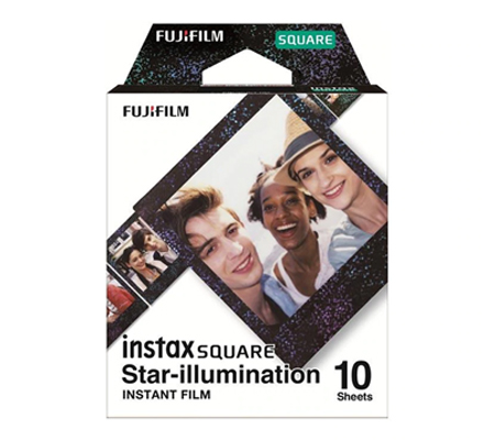 Fujifilm Instax Star Illumination Film Square Paper