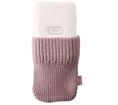 Sock Case Fujifilm Instax Mini Link Dusky Pink