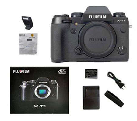 ::: USED ::: Fujifilm X-T1 Body (Black) (Excellent-760)