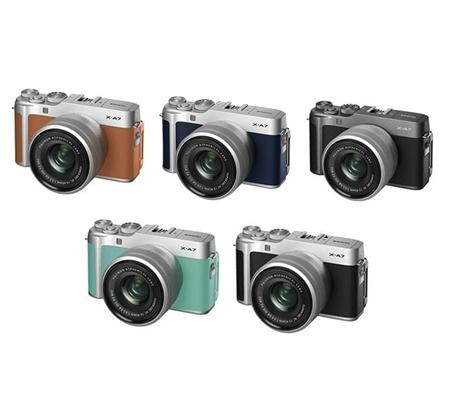 Fujifilm XA7 kit with XC 15-45mm f/3.5-5.6 OIS PZ Silver