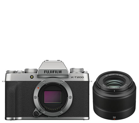 Fujifilm X-T200 Kit XC 35mm f/2 Silver