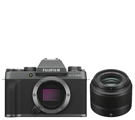 Fujifilm X-T200 Kit XC 35mm f/2 Dark Silver