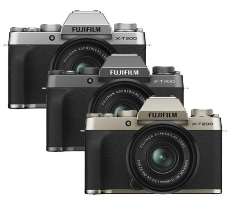 Fujifilm X-T200 kit XC15-45mm f/3.5-5.6 OIS PZ Dark Silver