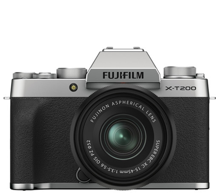Fujifilm X-T200 kit XC15-45mm f/3.5-5.6 OIS PZ Silver