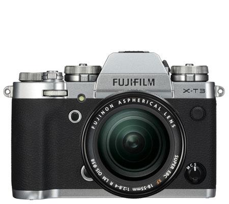 Fujifilm XT3 Kit 18-55mm f/2.8-4 R LM OIS Silver